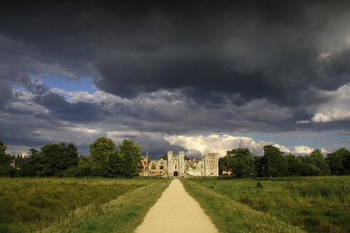 Looming_clouds_at_cowdray_house_castle_midhurst_west_sussex