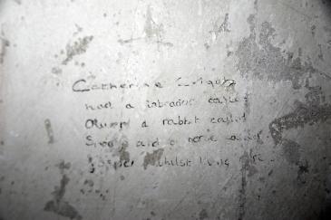 Catherine writing in Bepton
