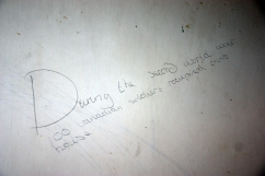 Writing on the wall at Bepton