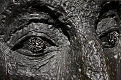 John Davies Face Head Sculpture at Cass Sculpture Park