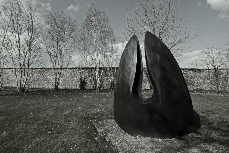 Steve Dilworth Venus Stone at Cass Sculpture Park Chichester