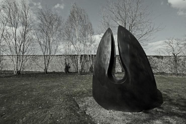 Steve Dilworth Venus Stone at Cass Sculpture Park Chichester