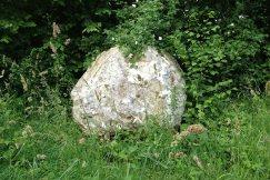 Chalk Balls Trail West Dean stone 4