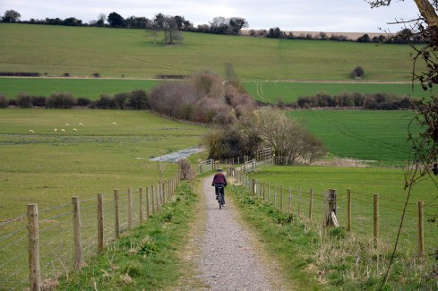 Centurion's Way near West Dean