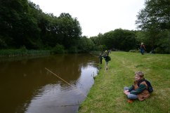 Chiddingfold Cubs Fishing Whithorn Farm 1