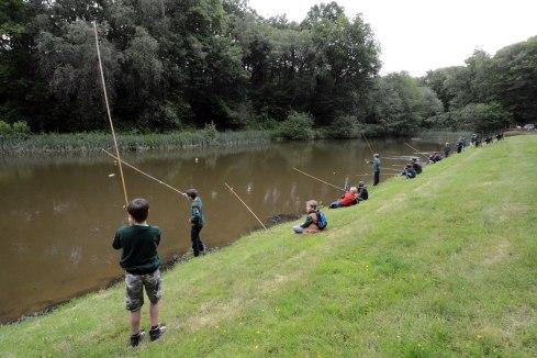 Chiddingfold Cubs Fishing Whithorn Farm 2