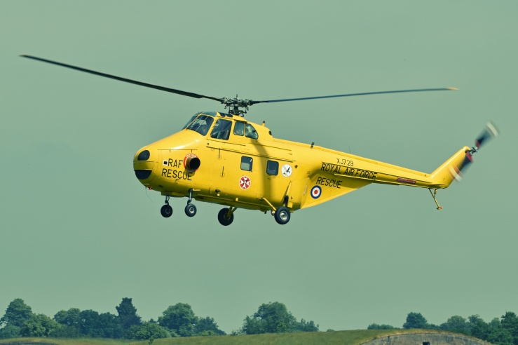 Helicopter Crash on Bepton Down near Midhurst