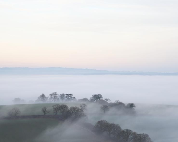 Fog in Midhurst West Sussex